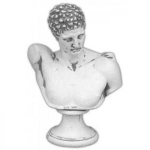 Grieks beeld van de god van de reizigers en boodschapper van de goden. Bekend uit de Griekse mythologie