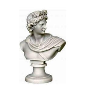 Grieks beeld van Apollo is de zoon van Zeus en de tweelingbroer van Artemis God van het licht, de muziek, de dichtkunst en de spiritualiteit . Bekend uit de Griekse mythologie