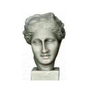 Hygieia Grieks beeld van de Griekse godin van de gezondheid. Bekend uit de Griekse mythologie